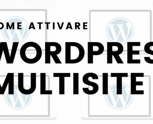 come attivare wordpress multisite 495x400 - Wordpress Multisite Come creare una rete di siti