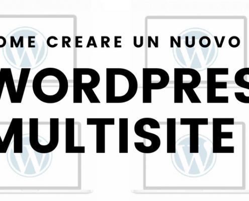 come creare un nuovo sito con wordpress multisite 495x400 - Wordpress Multisite Come creare una rete di siti