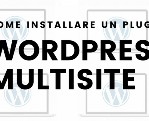 come installare un plugin con wordpress multisite 1 495x400 - Wordpress Multisite Come creare una rete di siti