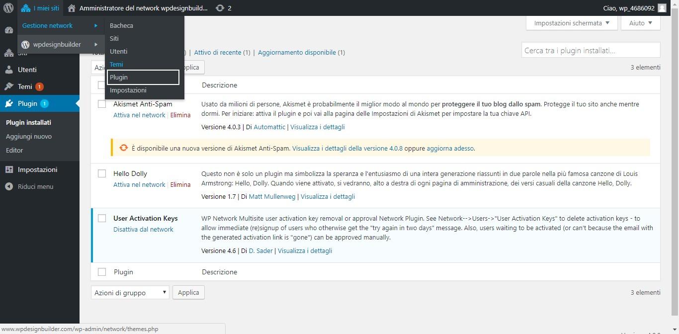 installazione plugin wordpress multisite - Come installare un plugin in wordpress multisite