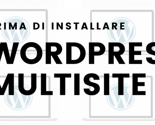 requisiti installazione wordpress multisite 1 495x400 - Wordpress Multisite Come creare una rete di siti