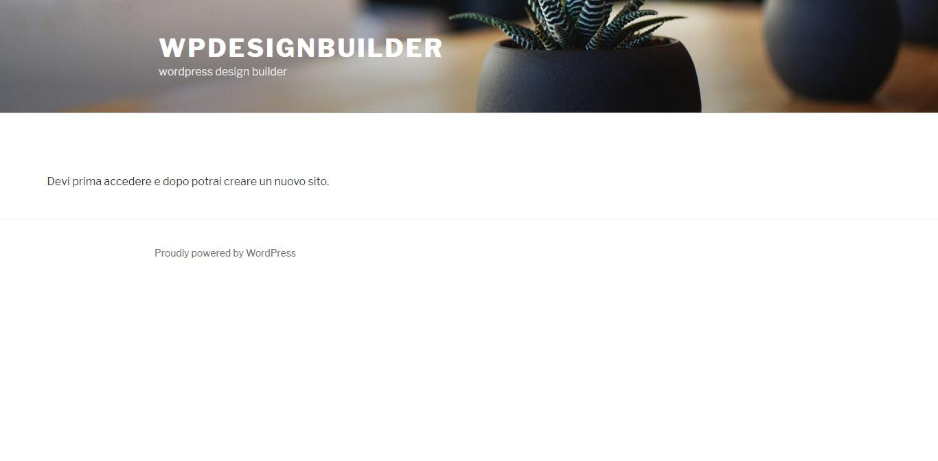 wordpress multisite creazione sito - come creare un nuovo sito nella rete wordpress multisite