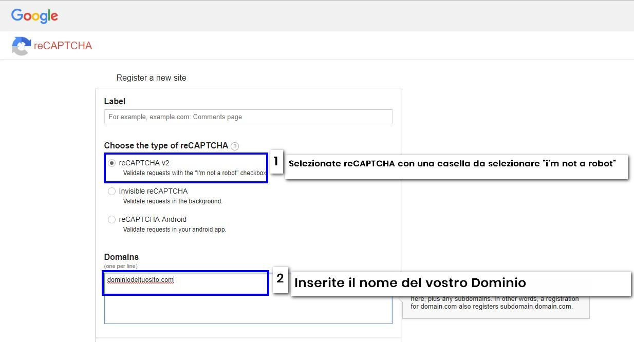 recaptcha i m not arobot - contact form 7 recaptcha