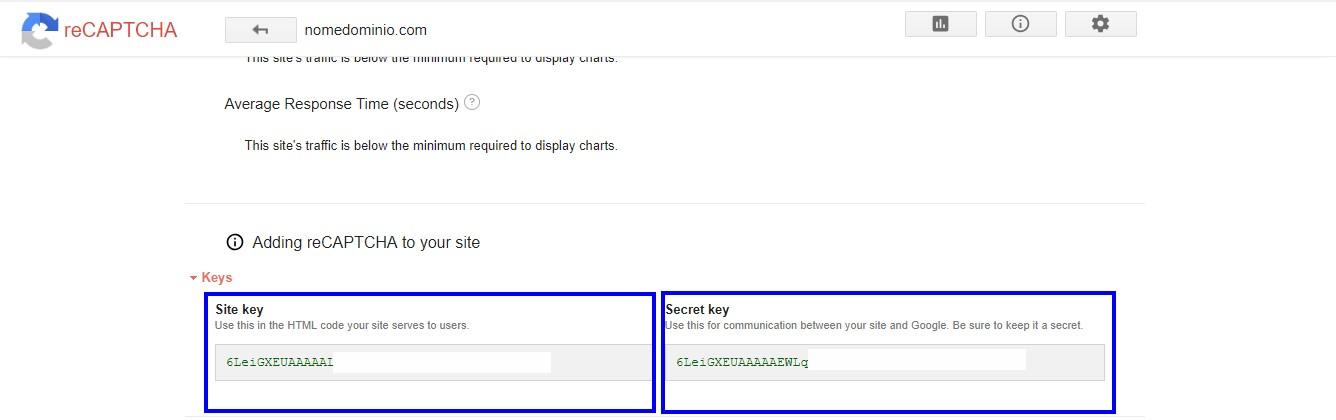 recaptcha key - contact form 7 recaptcha