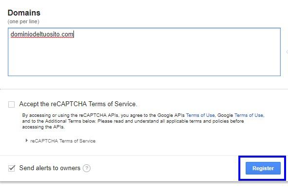 register captcha - contact form 7 recaptcha